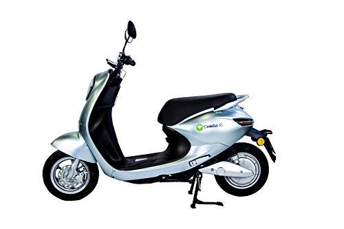 GinkGo R2 Elektromotorroller Zweisitzer-Straßenzulassung-42 km/h-bis 80 km Reichweite-Li-Io-Akku herausnehmbar (Blau)*