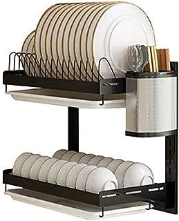 DJSMsnj Étagère de cuisine en acier inoxydable pour ustensiles de cuisine (dimensions : 41 x 27 x 40,5 cm)