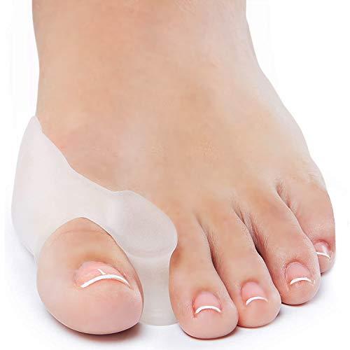 Bunion Corrector and Bunion Relief Gel Toe Separator Guard Big Toe Spreader Cushion Bunion Pads (1 Pair)