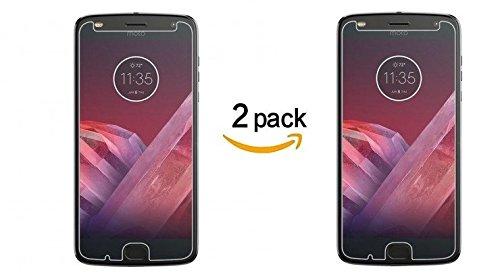 2 Pack de Cristal templado Para Motorola MOTO Z2 PLAY Protector de pantalla tempered Glass Alta…