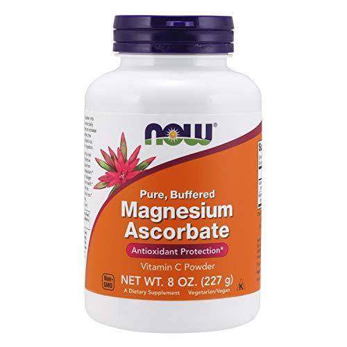 Now Foods, Magnesium Ascorbate, 227 g veganes Pulver, glutenfrei, sojafrei