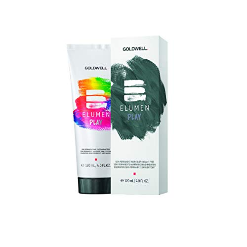 Goldwell 4021609109266 Elumen Play Semi Permanent Farbe, Green 120ml, GREEN Grün tropical green