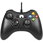 Etpark Xbox 360 Controller, PC Controller USB Wired Gamepad Wired Gaming Joystick For Xbox 360, Improved Ergonomic Design Controller for Xbox 360 Slim And PC with Windows XP/Vista/7/8/8.1/100