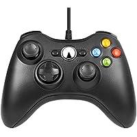 Etpark Mando Xbox 360, PC Mando USB Controlador de Gamepad Joystick de juegos Joypad para Xbox 360, mando de diseño ergonómico mejorado para Xbox 360 Slim y PC con Windows XP / Vista / 7/8 / 8.1 / 10