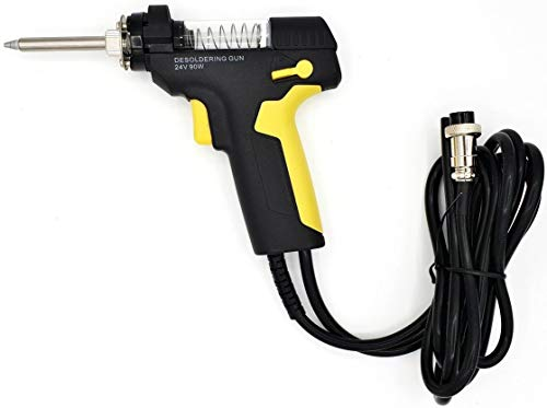 Komerci Entlötpistole ZD-553 mit Entlötspitze 1,0mm für Entlötstation ZD-8915 ZD-8917 Ersatz-Entlötkolben, ergonomisch