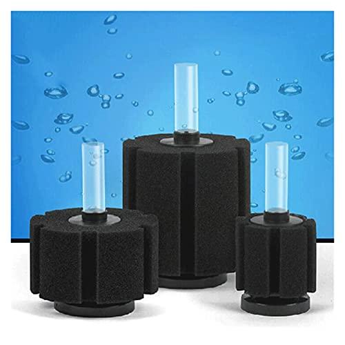 Accessoires d'aquarium 1pc Aquarium Filtre Terrain de poisson Pompe à air Skimmer Skimmer Biochimie Sponge Filtre Aquarium Filtration Filtrer Aquatiques Animaux Poisson Produits de poisson Durable et