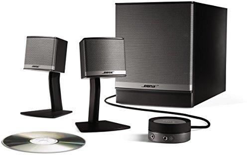 Bose ® Companion 3 Multimedia Lautsprecher System, silber