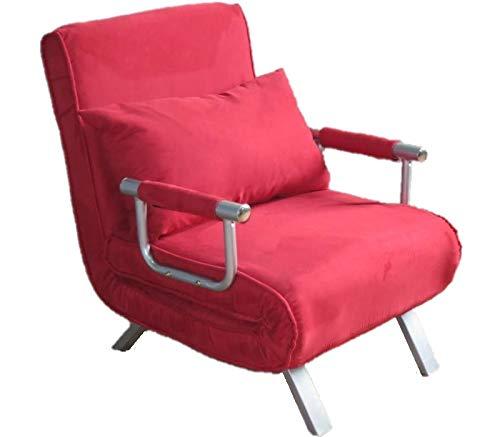 divano letto 1 piazza ITALFROM Divano Letto Sofa Bed Rosso Divani 65x69x82h Divanetti Divano Letto 1 Piazza