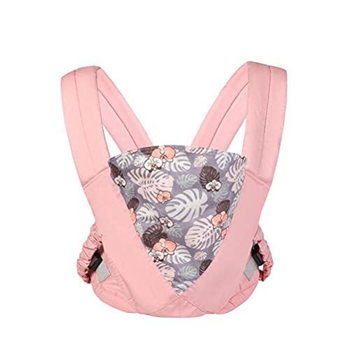 Fular Portabebé,arnés de transporte ajustable para recién nacidos y niños pequeños de hasta 15 kg (0-36 meses), protección triangular, almohadillas suaves ergonómicas