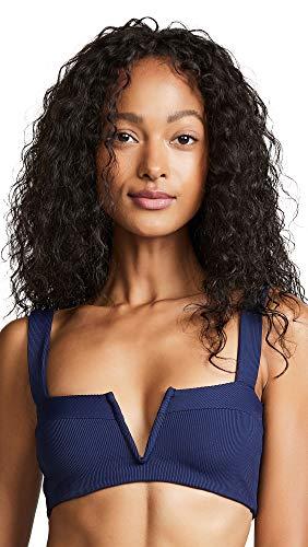 LSpace Women's Lee Lee Bikini Top, Midnight Blue, Small