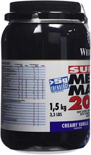 Weider Mega Mass 2000, Vanille, 1,5kg Dose - 6
