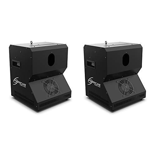 Chauvet DJ Hurricane Bubble Haze Professional Special Effects Fog Machine (2 Pack)