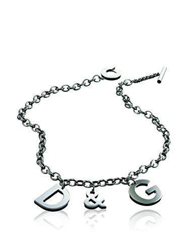 D&G Dolce&Gabbana Unisex-Collier mit Anhänger Edelstahl DJ0107
