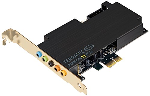 Terratec SoundSystem Aureon 7.1 PCIe interne Soundkarte (100dB )
