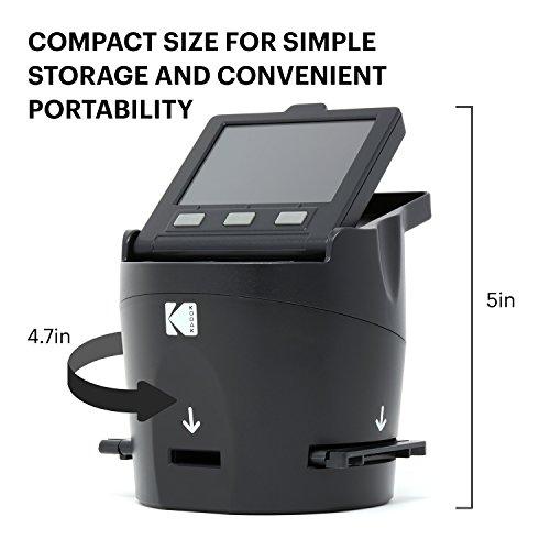 KODAK SCANZA Digital Film & Slide Scanner - Converts 35mm, 126, 110, Super 8 & 8mm...