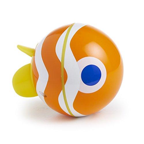 Munchkin Spinball Fish Bath Toy, Orange