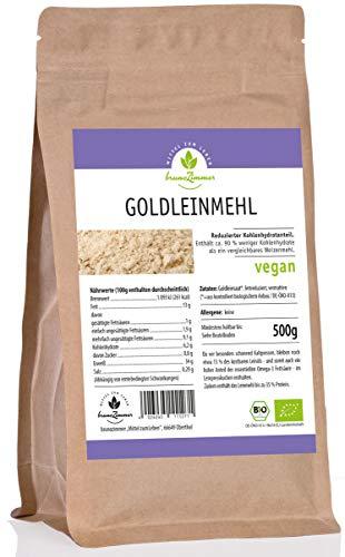 Goldleinmehl, Leinmehl aus Goldleinsaat, Leinsamenmehl, Bio 500 g