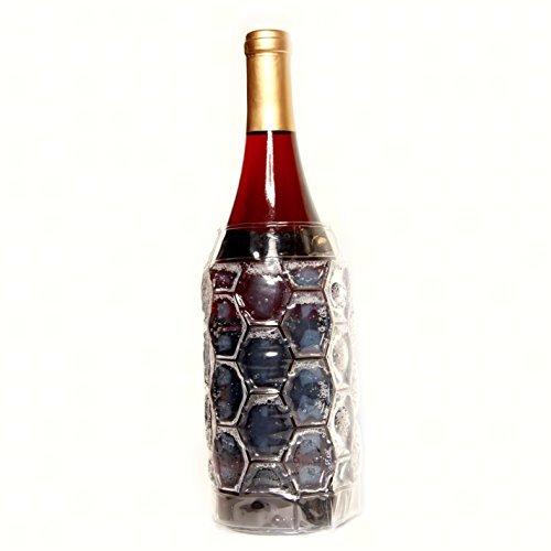 Zee's Creations ZEECS4007 Cool Sack Clear Wine Bottle Wrap