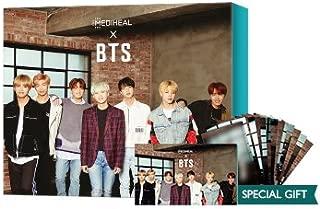 MEDIHEAL x BTS Special Set (Mask Sheets 10EA+BTS Photocard 14EA)/メディヒール x 防弾少年団 スペシャル セット (マスクパック10枚+BTSフォトカード14枚) (#4 SOOTHING CARE) [並行輸入品]