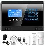Mapishop 'Erika' Kit di allarme domestico, Combinatore GSM, Wireless, Touch screen