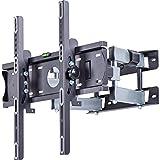 AmazonBasics - Soporte de pared con movimiento en voladizo completo con seis brazos, para...