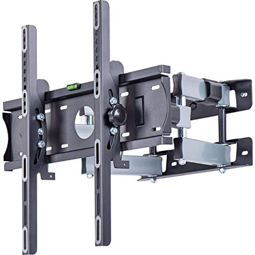 "Amazon Basics - Soporte de pared con movimiento en voladizo completo con seis brazos, para televisión, de 81,3 a 177,8 cm (32-70""), gama Performance"