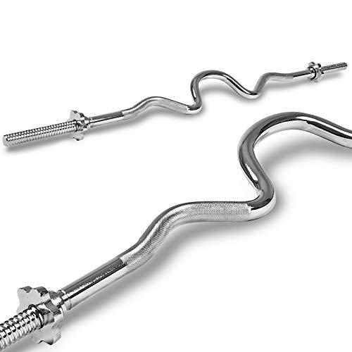 Xylo Hantelstange Lang-, Kurz-, SZ- & super SZ- Curlhantel Curlstange 25mm (SZ-CURLSTANGE 120/25mm)
