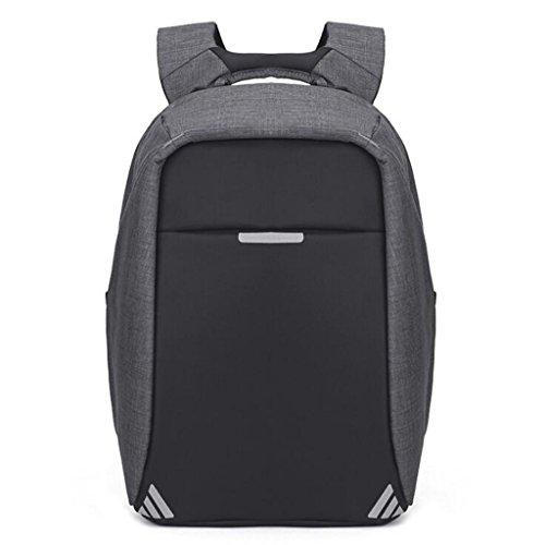 laptoptas USB Opladen Laptop Bag 15.6 Inches Waterdichte Business Travel Rugzak Anti-diefstal Computer Dames School Vrije tijd (Maat: 32 * 13 * 47cm)