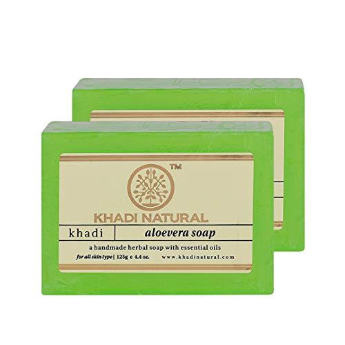 Khadi Aloevera Seife - 125 g - Packung mit 2