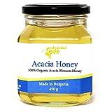 450 g Miel de Acacia Cruda, sin azúcar, sin calentar, sin pasteurizar