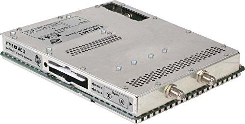 Astro Strobel Signalumsetzer 2-f.DVBC/T2 V 713 CI (AC3) in 2x1PAL,für V 16 Modul für Kopfstelle 4026187170875