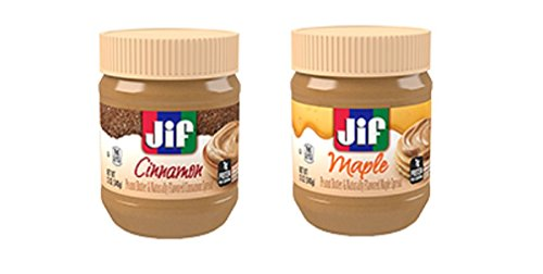 Jif Flavored Peanut Butter Pack - Cinnamon & Maple