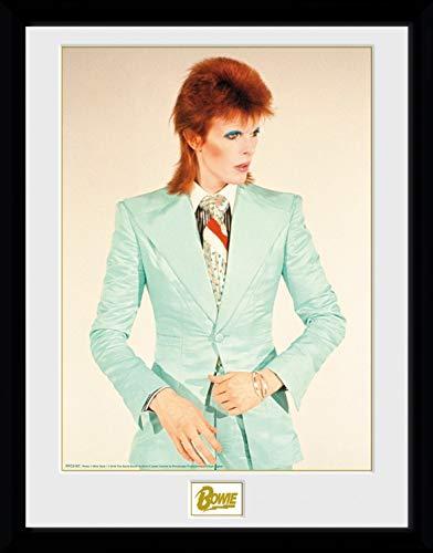 1art1 David Bowie Poster De Collection Encadré - Life on Mars (40 x 30 cm)