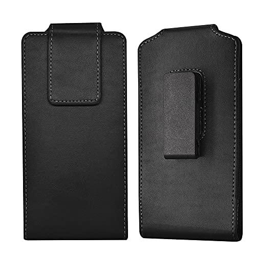 Handy-Holster mit Gürtelclip für Samsung Galaxy S21 S20 Ultra Note 20 Ultra A72 A32 5G A12 A02, Moto G10 G Stylus 2021 E7 Plus, LG V60 ThinQ Stylo 6 K51 K92 K61 Handy Gürtelhalter Tasche - XL