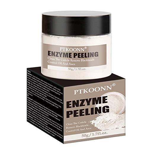 Enzympeeling für das Gesicht,Enzyme Peeling,Gesicht Exfoliator,Natürliches gesichtspeeling für stumpfe oder trockene Haut,verbessert Mitesser, Porengröße, Falten,...
