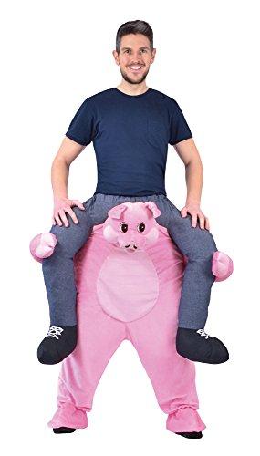 Bristol Novelty Ac867 Costume de Cochon Piggy Back, 38/40-Inch Waist Size