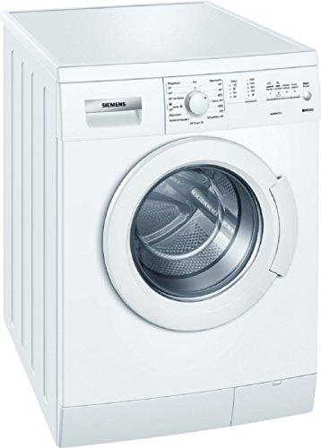 Siemens WM14E166 Waschmaschine FL/A+++ / 152 kWh/Jahr / 1365 UpM / 6 kg / 10372 L/Jahr/Mehrfachwasserschutz/weiß