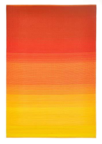 FAB HAB Big Sur - Sunset Alfombra/tapete para Interiores y Exteriores (120 cm x 180 cm)