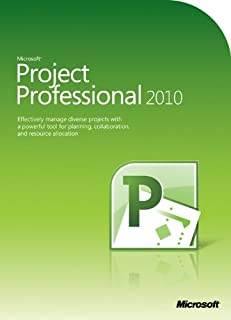 Microsoft Project Professional 2010 (PC) (B003FP0G24) | Amazon price tracker / tracking, Amazon price history charts, Amazon price watches, Amazon price drop alerts