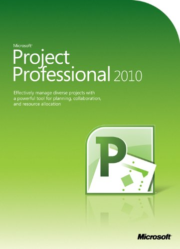 Microsoft Project Professional 2010 (PC) [import anglais]