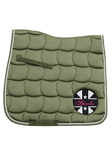 SPOOKS Dressage Pad Patch II (Farbe: olive; Größe: dressage)