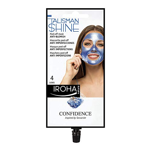 Iroha Talisman Blue Peel-Off Mask Anti Blemish, 25 ml