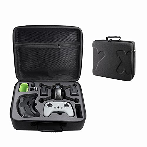 Storage Bag for DJI FPV Combo - Carrying Case Suitcase Portable Hard Shell Handbag Box Fit DJI FPV Drone More Combos and Accessories