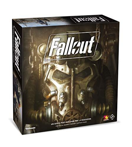 Asmodee Italia Fallout Juego de Mesa, Color Negro, izx02