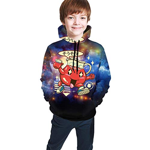huatongxin Children's Hoodies Kool Aid 3D Print Pullover Hooded Sweatshirt for Girls/Boys/Kid's/Youth