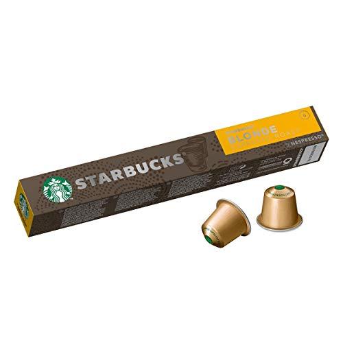Starbucks Nespresso Compatible Blonde Espresso, 10 capsulas - 3 unidades