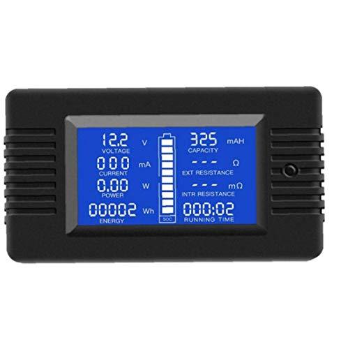 DC Multifunción probador de la batería multímetro del amperímetro del voltímetro digital LCD de pantalla actual voltaje de la energía solar