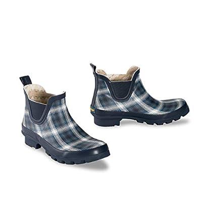 Pendleton Women's Classic Chelsea Ankle Length Slip-Resistant Rain Boot, Window Ombre Blue, Size 10