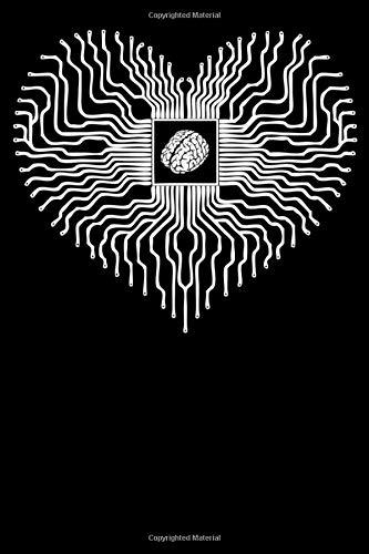 Notizbuch: Elektrischer Chipsatz für die Prozessor Herzverarbeitungseinheit Notizbuch DIN A5 120 Seiten für Notizen, Zeichnungen, Formeln | Organizer Schreibheft Planer Tagebuch