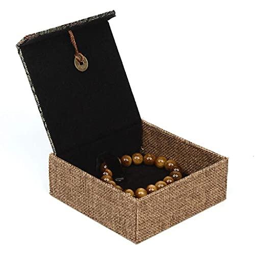 TEAYASON Joyero rojo Joyero Caja de regalo Set Collar Pulsera Pendiente Anillo Cajas de Regalo Joyería Caja de Regalo para Boda, Compromiso, Caja de Pulsera Verde